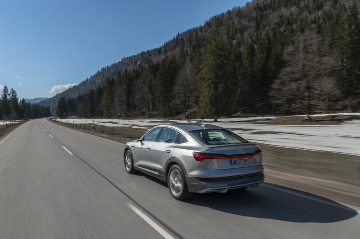 Der neue Audi e-tron Sportback