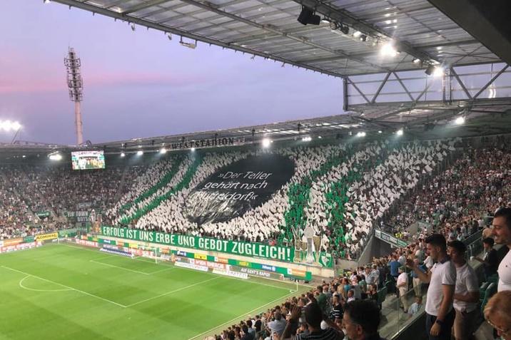 SK Rapid Spiel