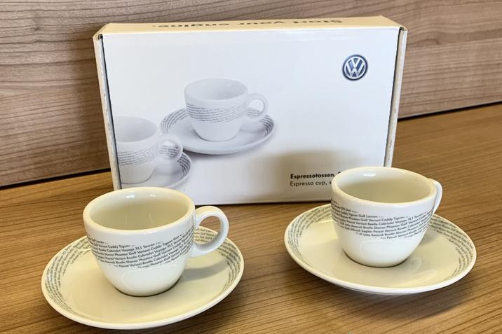 VW Espressotassen
