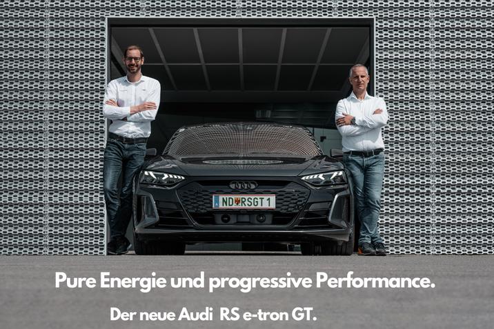 Der neue Audi RS e-tron GT