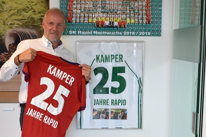 25 Jahre KAMPER - SK RAPID WIEN