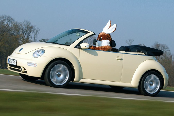 Frohe Ostern VW Hase