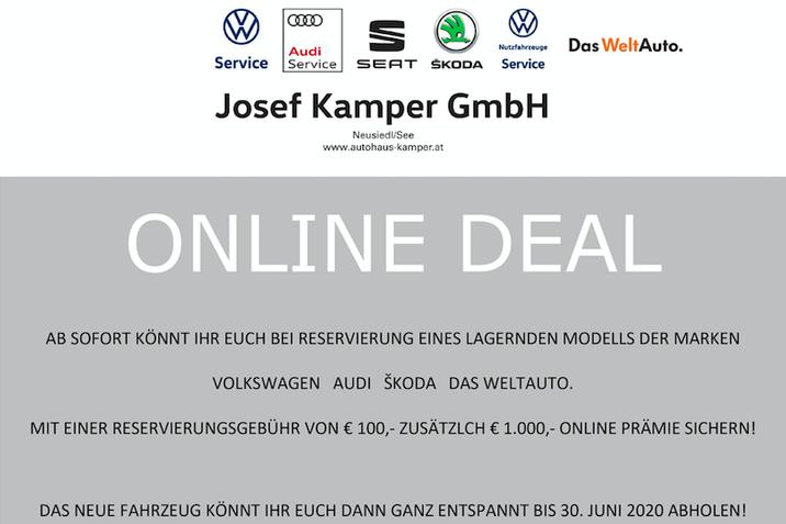 Kamper Online Deal