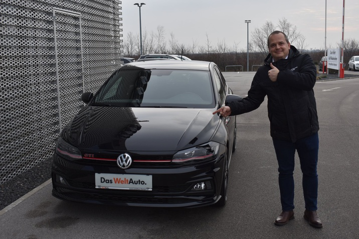 Unser Neuzugang der Woche - VW Polo GTI DSG!