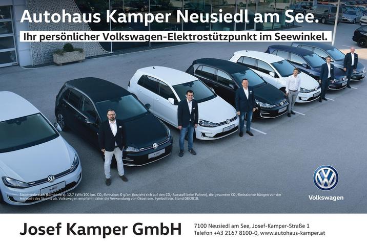 Volkswagen-Elektrostützpunkt