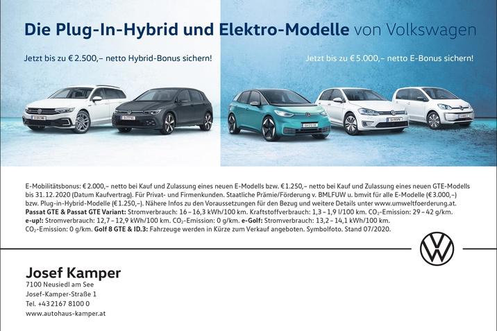 Volkswagen Modelle